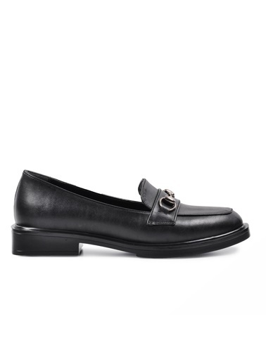 Esstii 8905 Siyah Kadın Günlük Ayakkabı Siyah